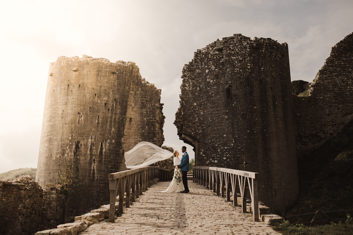 Corfe-Castle-Dorset-Wedding-Photographer